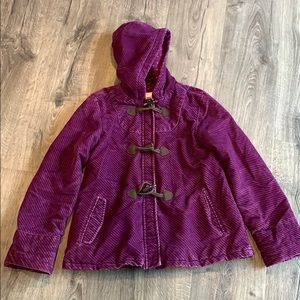 Size large girls coat